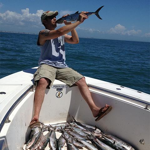 Topsail beach fishing charters pro fish nc charters for Topsail island fishing