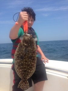 Topsail Beach Flounder Fishing Charters